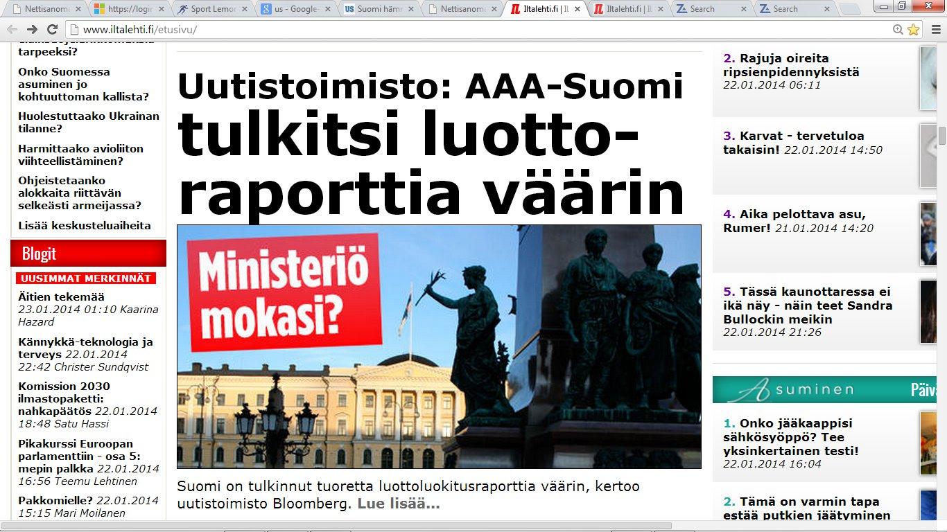 väärin ymmärretty suomalainen