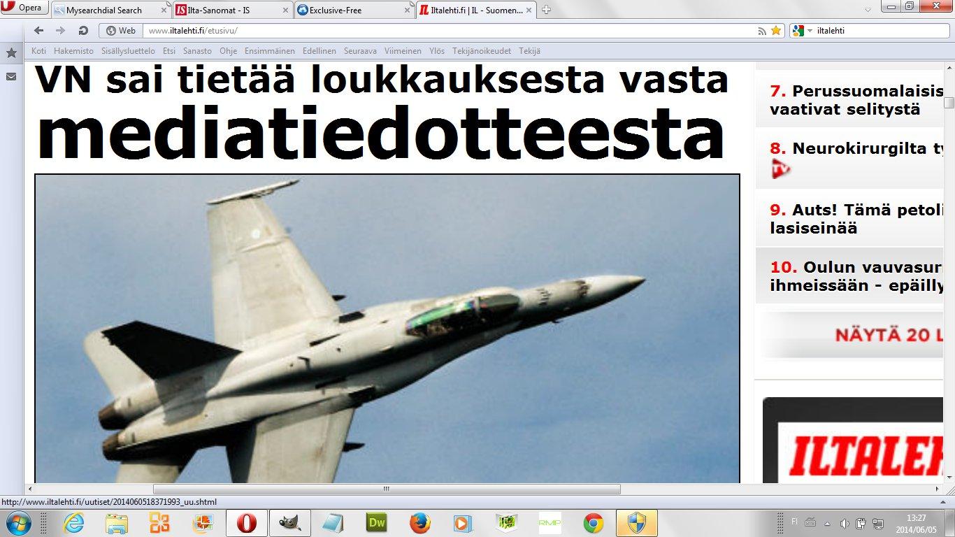 tuoreimmat uutiset ilta sanomat Kuusamo